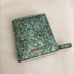 Kate Spade Glitter Bug Small Stacy Wallet